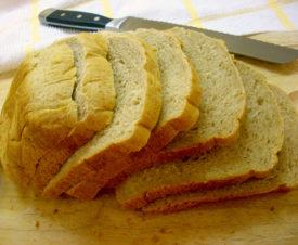 Best Bread Machine Bread – Honey Wheat version