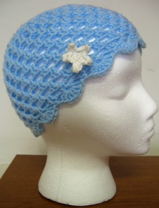 Blue Star Cloche