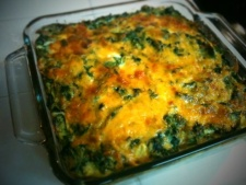 Breakfast Casserole (With Chard if you Want)