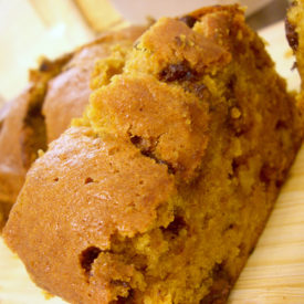 Chocolate Chip Pumpkin Nut Bread Recipe