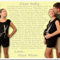 Dear Baby – Week 35 love note to my fetus