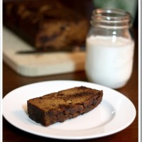 Grain-Free Chocolate Chip Pumpkin Bread
