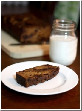 Grain-Free Chocolate Chip Pumpkin Bread