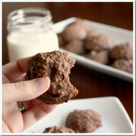 Grain-Free Recipe: Chocolate Chocolate Chip Cookies