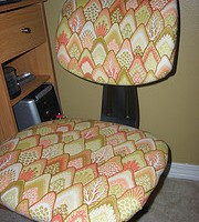 How to Re-Cover an Ugly Office Chair
