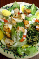 I can't NOT share this salad with you – And Low-Fat Ranch Dip + Ranch Dressing Recipes
