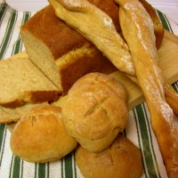 Look at me all baking homemade bread from scratch…