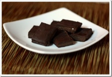 Low-Sugar Chocolate Fudge