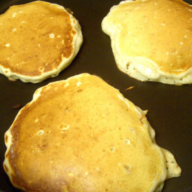 Oatmeal Walnut Pancake Recipe