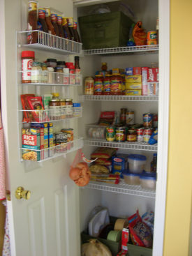 Pantry shuffle… or Reorganizing the FoodStuffs