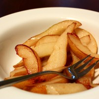 Pears with a twist