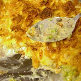 Repeat: Yummy Chicken Broccoli Cheese Onion Casserole