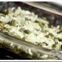 Roasted Okra and Onions