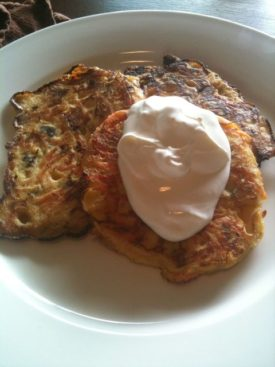 Savory Vegetable Pancakes