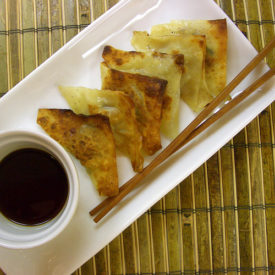 Simple Steam-Fried Pork Wontons