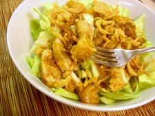 Sommer's Easy Mandarin Chicken (over Salad)