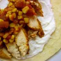 Sommer's Mexican Chicken Wrap