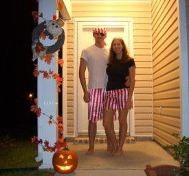 We Hope Yer Halloween Shivered Yer Timbers!