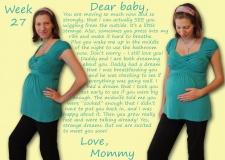 Week 27 – Crazy Pregnancy Dreams