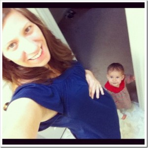 Barefoot and Pregnant in the Kitchen–Week 19+