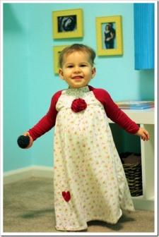 Handmade Christmas–Part 7: Christmas Eve Nightgown