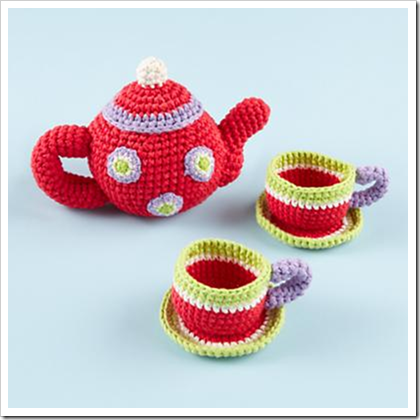 land of nod crochet tea set