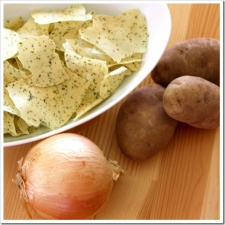 The Best Sour Cream & Onion Potato Chips Recipe