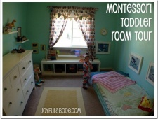 Montessori Toddler Room Tour