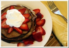 Grain-Free Cheesecake Pancakes
