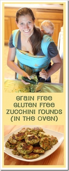 Primal Baked Zucchini Rounds (Grain Free, Gluten Free)