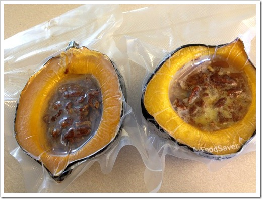 Acorn Squash With Orange- Pecans Recipe — Dishmaps