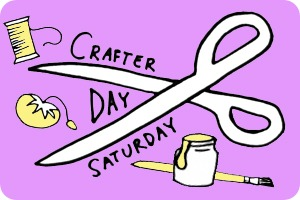 Crafterday Saturday at Joyful Abode