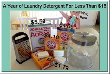 A Year's Worth of Laundry Detergent for Less than $16