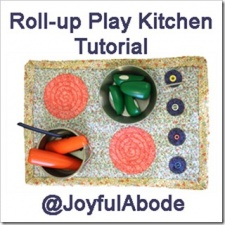 CrafterDay Saturday–Roll-Up Play Kitchen Tutorial