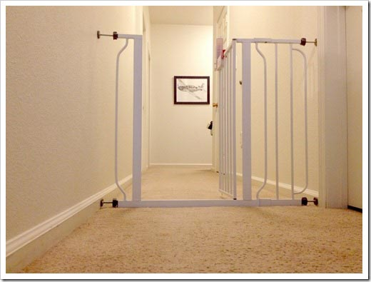 baby gate as house divider
