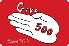 #Give500 Things Challenge