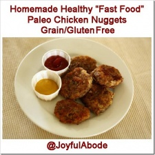 "Freezer Friday – Homemade Healthy ""Fast Food"" Paleo Chicken Nuggets"