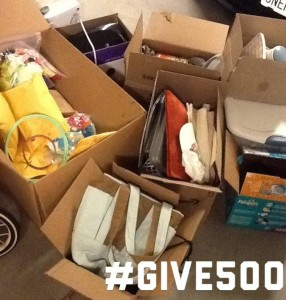 #Give500 – More to share!