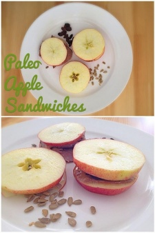 #MmmMonday – Paleo Pals review and Apple Sandwiches