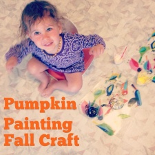 Paint a Pumpkin With Your Kids
