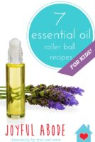7 essential oil roller ball recipes for kids