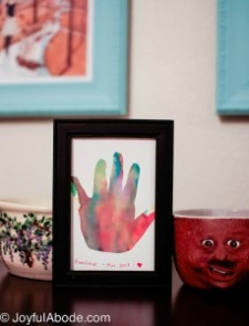 Mother's Day Craft – Watercolor Handprints