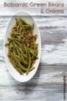 Balsamic Green Beans and Onions Recipe