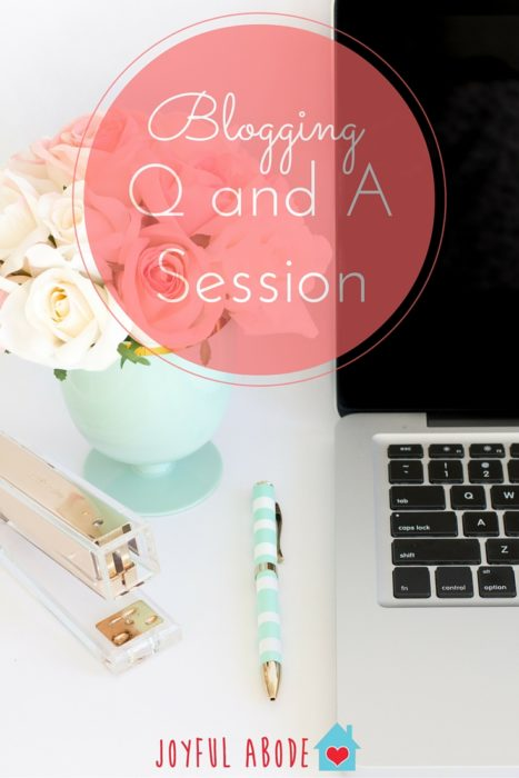 Blogging Q&A Session - SEO, pageviews, affiliates, ads, and sharing