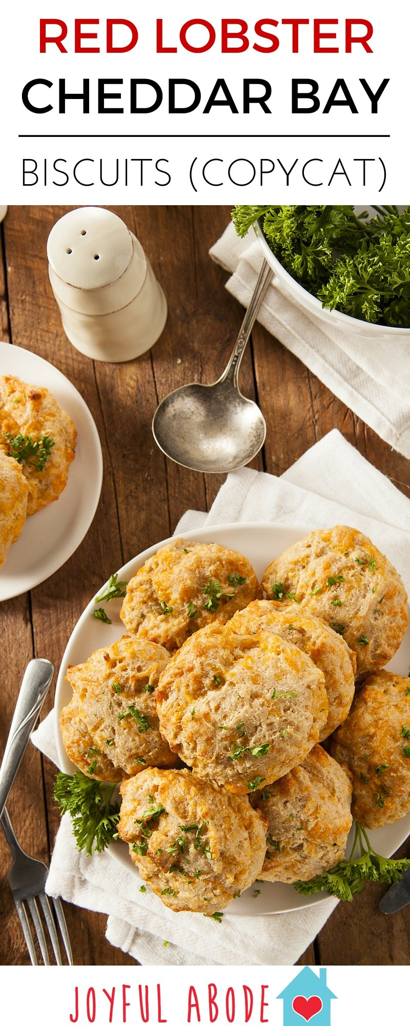 Easy copycat Red Lobster Cheddar Bay biscuits recipe with step by step photos