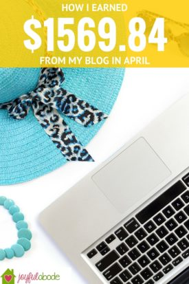 How I earned $1569 from my blog in one month, and some exciting developments for my blog's future. Want to make money from home? Starting a blog might be the way to go.