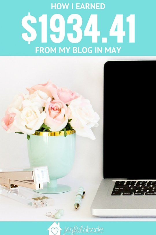 This is my blog income report from May 2016 - read all about my Pinterest Pageviews Plan, how I gained over 5,000 Instagram followers this month, and exactly what my income and expenses looked like.
