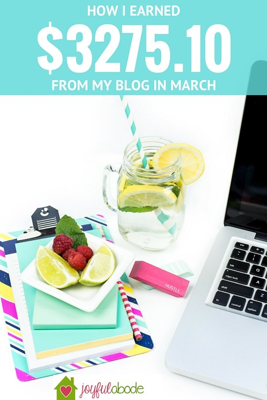How I earned $3275.10 in one month with my blog, while I basically didn't work at all.