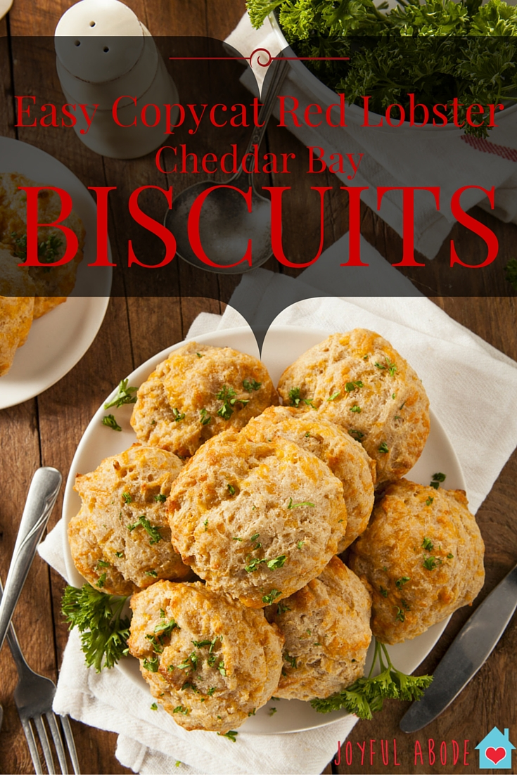 Easy Copycat Cheddar Bay Biscuits from Red Lobster. This step-by-step recipe tutorial is so easy and delicious.