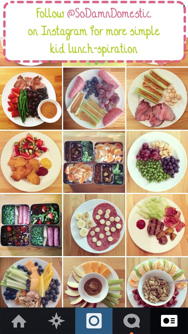Simple Kid Lunches - 5 Steps to Never Running Out of Ideas - Joyful Abode